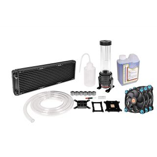 Thermaltake Pacific RL360 | RGB Water Cooling Kit | Soft Tube | CL-W115-CA12BU-A
