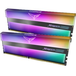 Team Xtreem ARGB 32GB (16GB KIT) DDR4 PC25600 3200Mhz   TF10D432G3200HC16CDC011