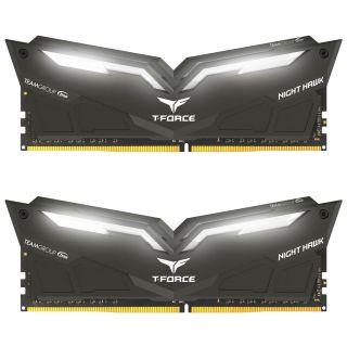 Team T-Force Night Hawk 32GB (16GB KIT) DDR4 PC25600 3200Mhz Black |TF1D432G3200HC16CDC01