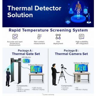 Smart Thermal Gate Solution with Camera TD01 | RG - WX - TD01