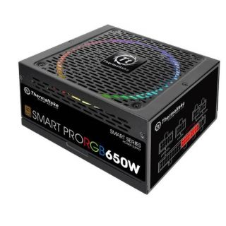Thermaltake Smart Pro RGB 650W Bronze | PS-SPR-0650FPCBEU-R
