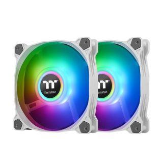 ThermalTake Fan Pure Duo 12 ARGB | Black | CL-F115-PL12SW-A