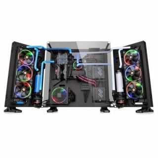 Thermaltake Core P7 TG | Black | Tempered Glass | CA-1I2-00F1WN-00 | Wall-mount