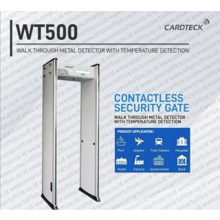 Cardteck Autogate WT500 | Walkthrough Metal Detector with Temperature Detector