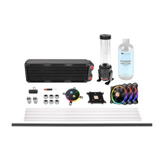 Thermaltake Pacific M360  | DIY LCS | RL360mm DIY Liquid cooling system | Hard Tube | pure clear coolant