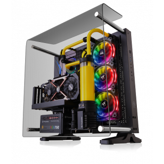 Thermaltake Core P3 TG Curved Edition | Black | TemperedGlass | CA-1G4-00M1WN-05