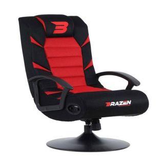 BRAZEN Pride 2.1 Bluetooth Surround Sound | Console Chair | RED
