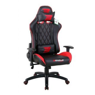 BRAZEN Phantom Elite PC Gaming Chair | Console Chair | Red