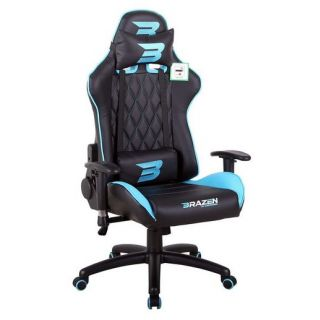 BRAZEN Phantom Elite PC Gaming Chair | Console Chair | BLUE