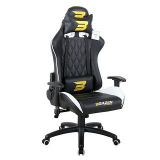 BRAZEN Phantom Elite PC Gaming Chair | Console Chair | WHITE