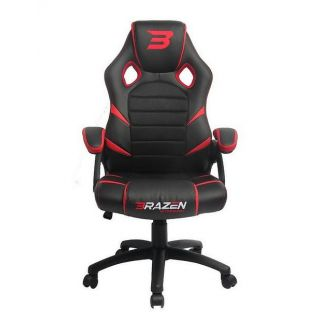 BRAZEN Puma PC Gaming Chair | Console Chair | Red