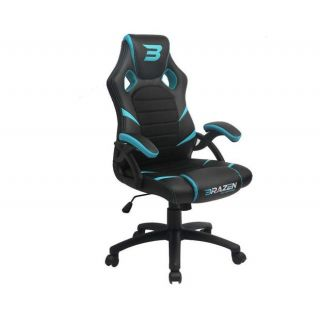 BRAZEN Puma PC Gaming Chair | Console Chair | BLUE