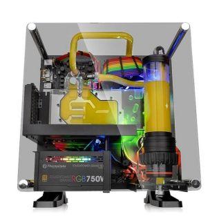 THERMALTAKE Core P1 TG Mini ITX | BLACK | CA-1H9-00T1WN-00