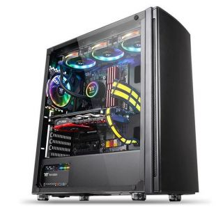Thermaltake Versa H27 | Tempered Glass | CA-1J6-00M1WN-00 | Mid-Tower Chassis