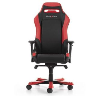 DXRacer Gaming Chair IRON   BLACK-RED   GC-I11-NR-S2