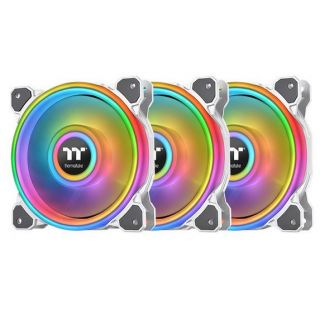 Thermaltake Riing Quad 12 RGB Radiator Fan | SNOW | CL-F100-PL12SW-A