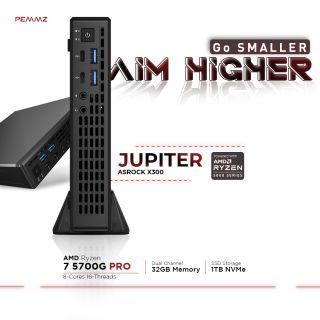 ASROCK JUPITER X300 - Cezanne | R7-5700G | 32GB | 1TB