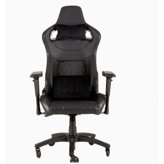 CORSAIR T1 RACE 2018 Gaming Chair | Black-Black