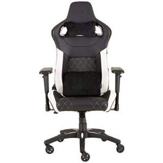 CORSAIR T1 RACE 2018 Gaming Chair | Black-WHITE