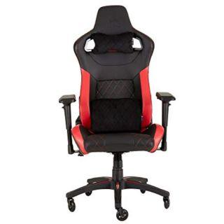 CORSAIR T1 RACE 2018 Gaming Chair | Black-RED