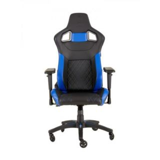CORSAIR T1 RACE 2018 Gaming Chair | Black-BLUE