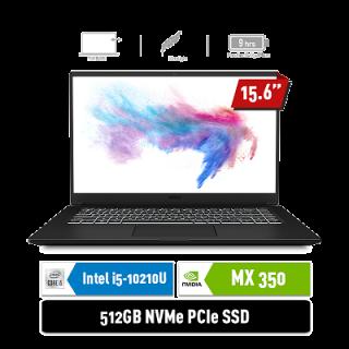 Modern 15 A10RBS - 446ID / 601ID | i5-10210U | MX350 2GB | BLACK