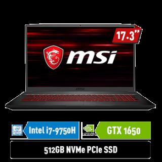 MSI GF75 9SC - 609ID | i7-9750H | GTX1650 4GB | 144Hz