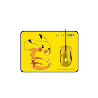 Razer Mouse Pikachu Limited Edition + Mat Bundle | RZ83-02540100-B3D1