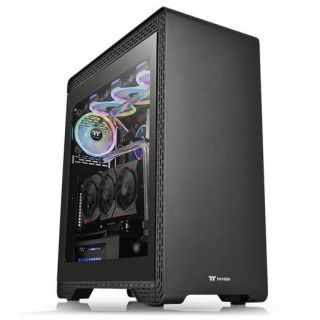 Thermaltake S500 Tempered Glass | CA-1O3-00M1WN-00 | BLACK