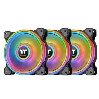 Thermaltake Fan Riing Quad 12 RGB 3 Pack | CL-F088-PL12SW-A