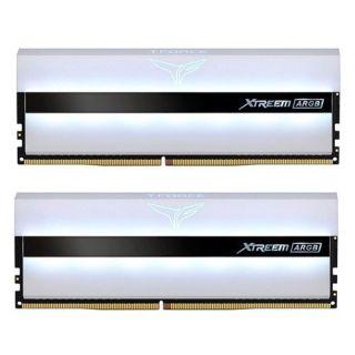 Team Xtreem ARGB White 16GB (8GB KIT) DDR4 PC28800 3600Mhz | TF13D416G3600HC18JDC01