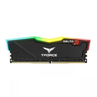 Team Delta RGB 8GB DDR4 PC25600 3200Mhz Black | TF3D48G3200HC16F01