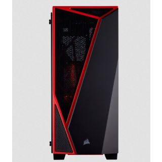 CORSAIR Carbide Series® SPEC-04 TG | BLACK-RED