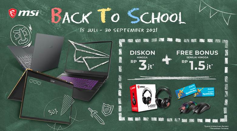 MSI Back to School with Pemmz